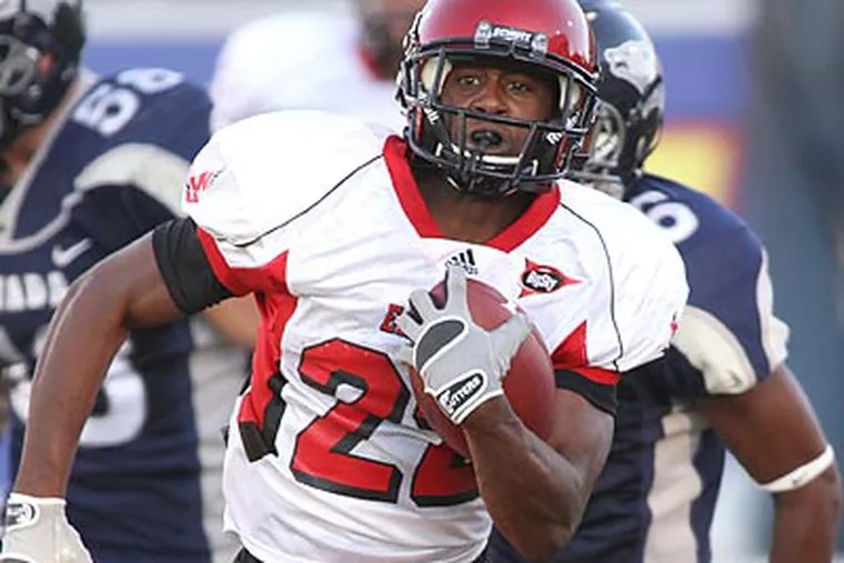 Taiwan Jones rushed for a career-high 230 yards against North Dakota State. (Cathleen Allison/AP file photo)