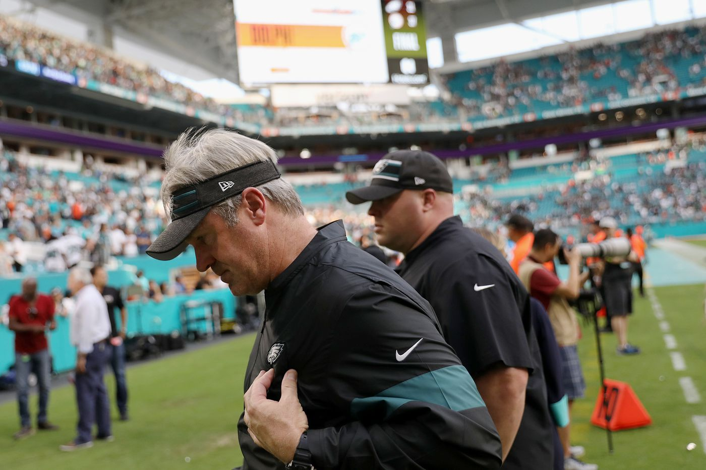 Eagles-Dolphins, what we learned: Coaching and personnel changes are needed