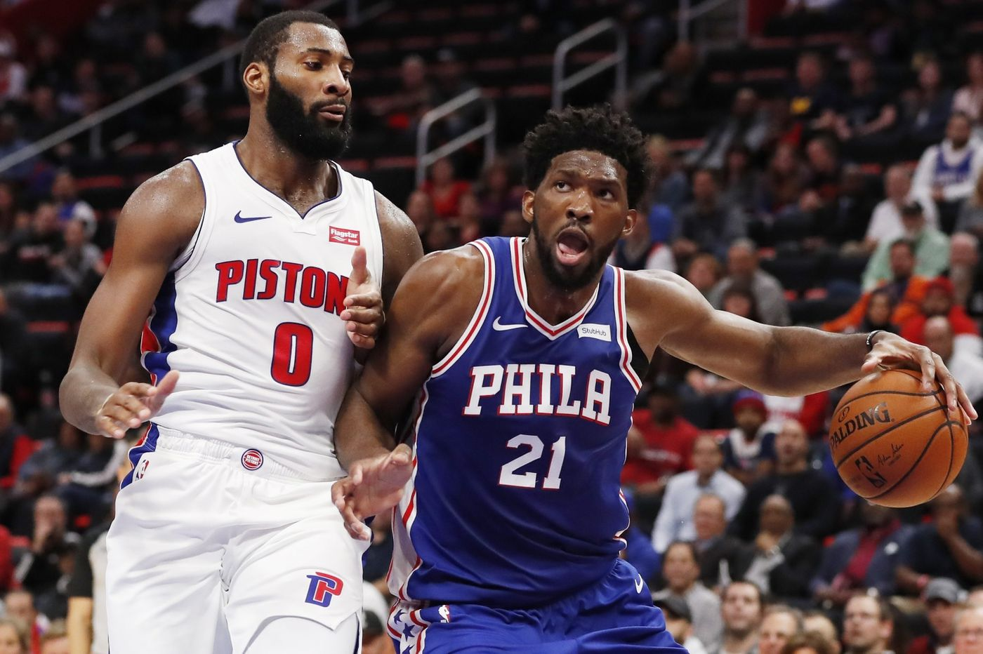 Sixers podcast: On a bounce-back opportunity vs. the Pistons and Joel Embiid owning real estate in Andre Drummond's head