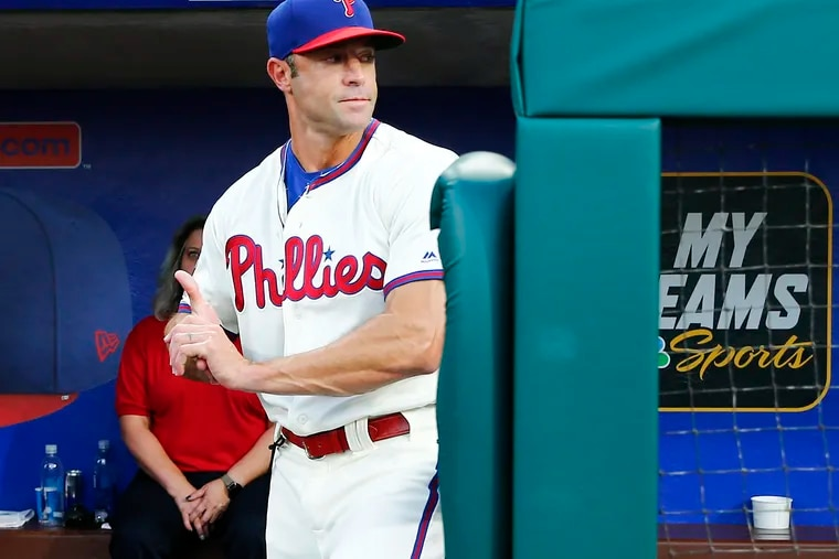 The Phillies went 20-36 in September during Gabe Kapler's two seasons as manager.