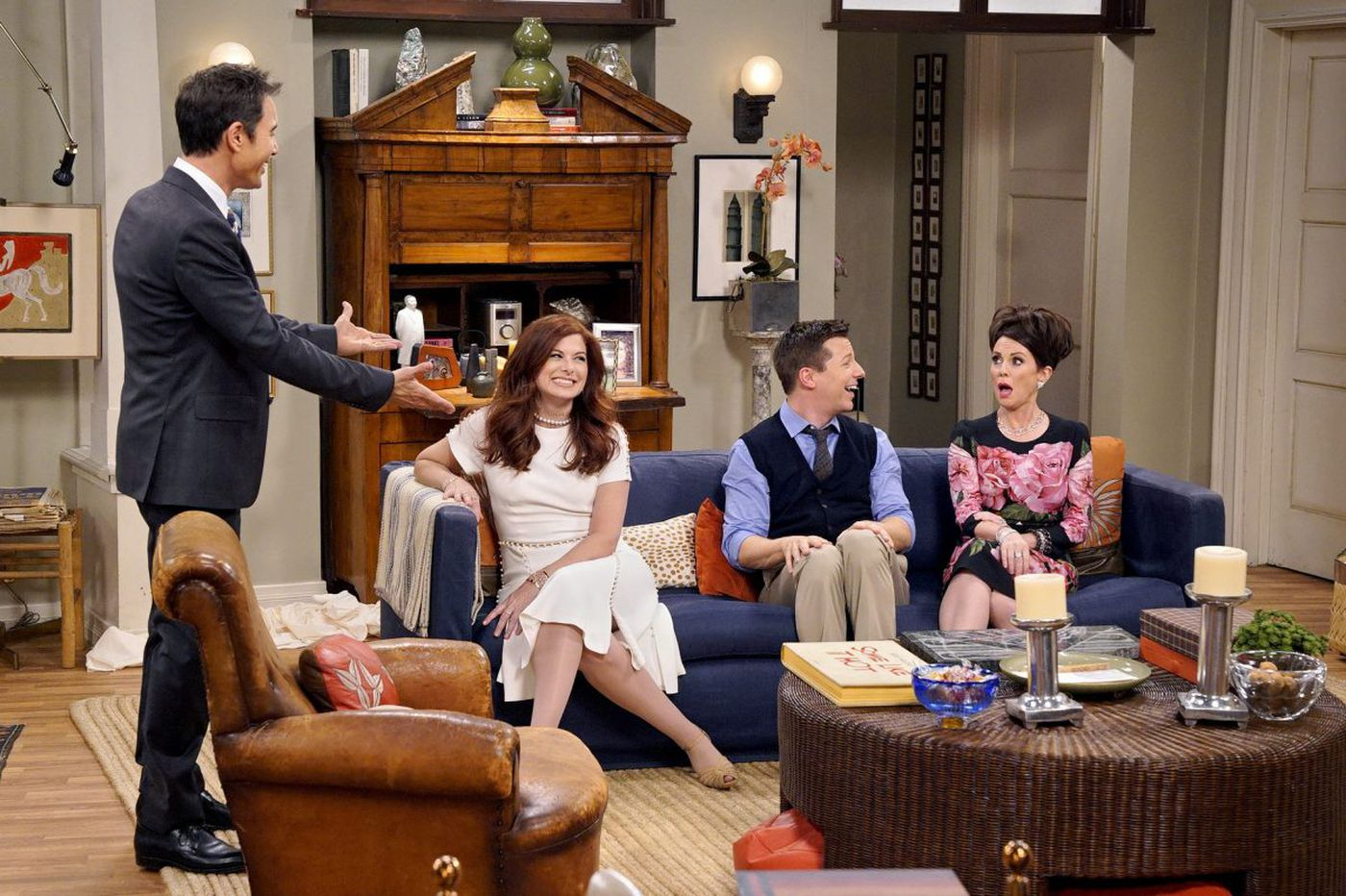 Not-so-new 'Will & Grace' wastes no time getting to Trump