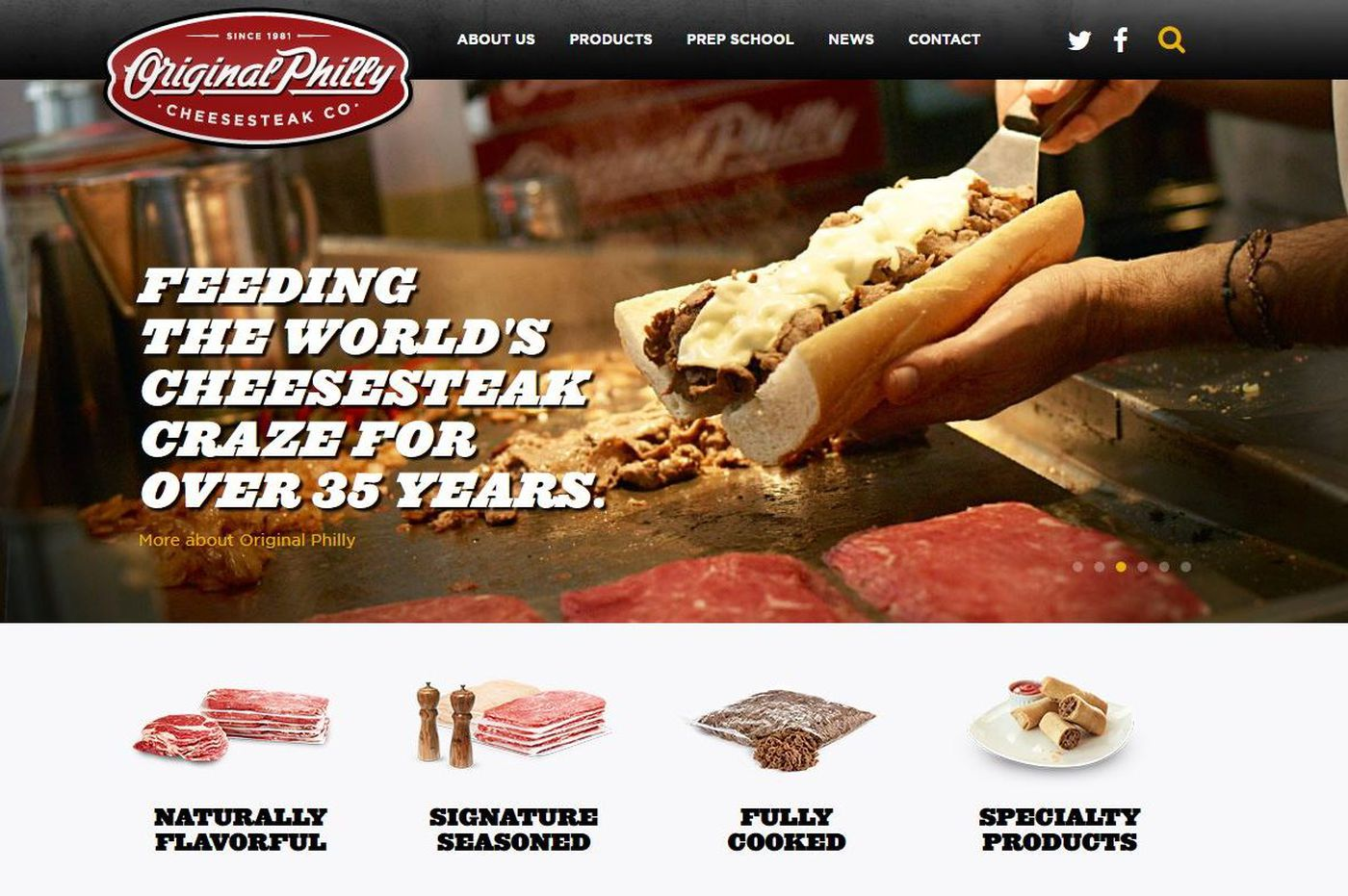 Original Philly Cheesesteak Co. sold to Tyson Foods