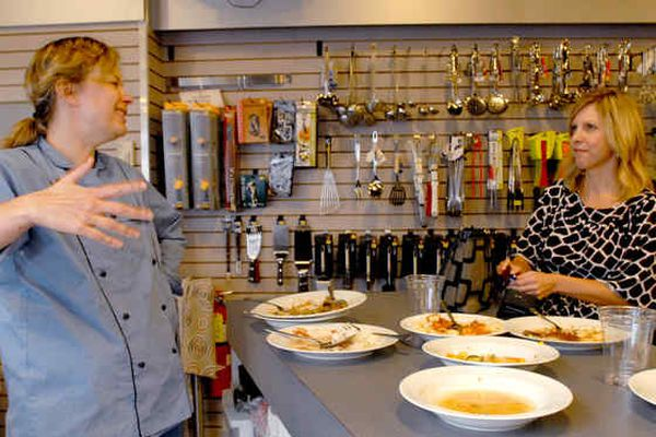 With more eating in, cooking classes heat up