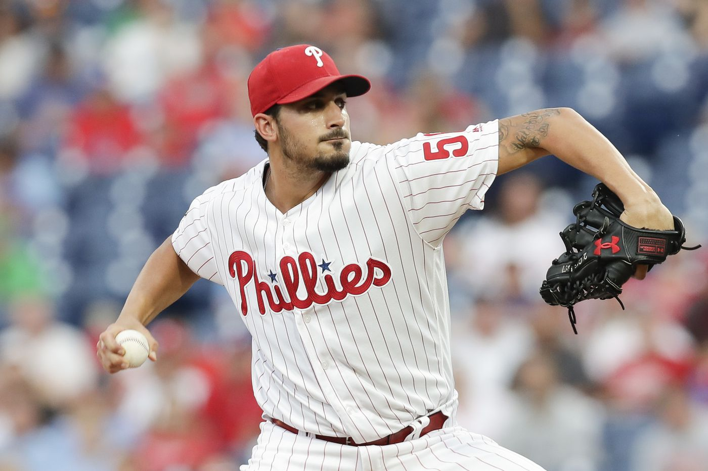 Zach Eflin leads Phillies to .500-clinching victory over Marlins and makes case to be in 2020 starting rotation