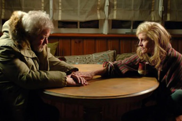 """Gordon Pinsent and Julie Christie as Grant and Fiona in """"Away From Her,"""" young director Sarah Polley's sensitive character study of a husband and wife parted by Alzheimer's disease."""