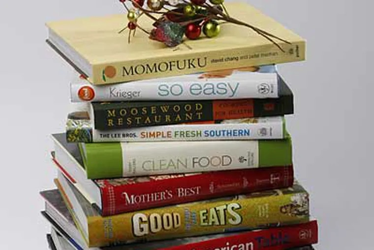 New cookbooks deliver the comfort food and the joyful detours. (MICHAEL S. WIRTZ / Staff Photographer)