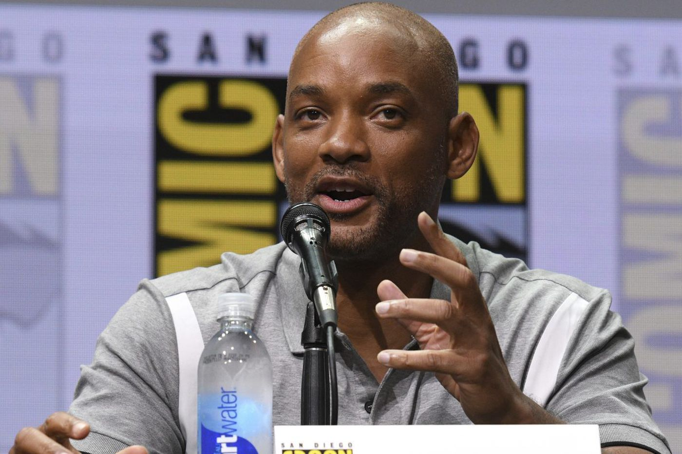 Will Smith says he 'found someone to be racist against' in upcoming Netflix movie 'Bright'