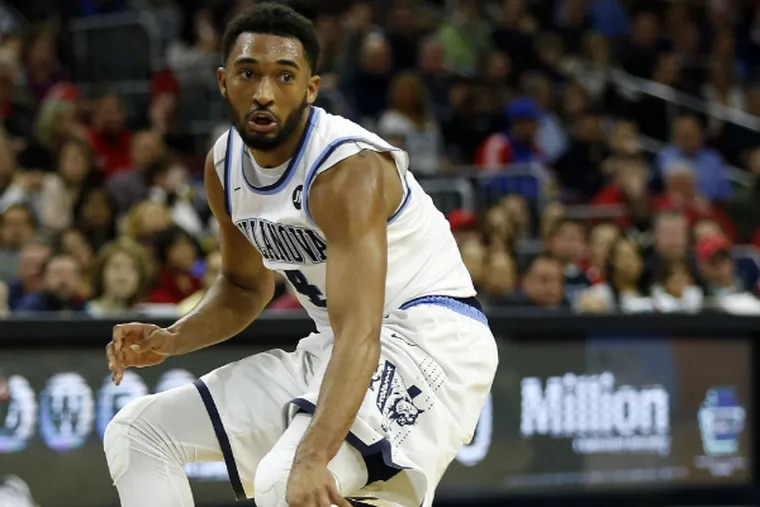 Darrun Hilliard said the Wildcats learned from last year's loss to Seton Hall. (Yong Kim/Staff Photographer)