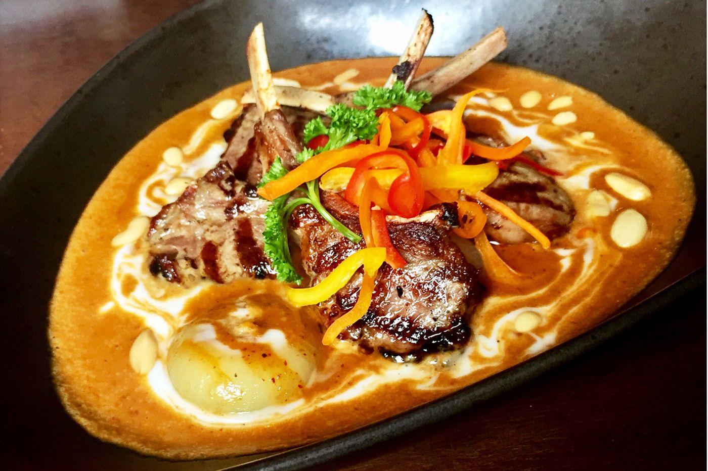 Massaman lamb chops mean Manayunk's Chabaa Thai is back