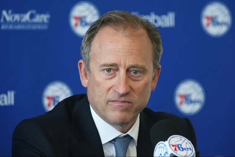 """Sixers managing partner Josh Harris won't be cutting employee salaries after all. """"After listening to our staff and players, it's clear that was the wrong decision,"""" Harris said in a statement released Tuesday."""