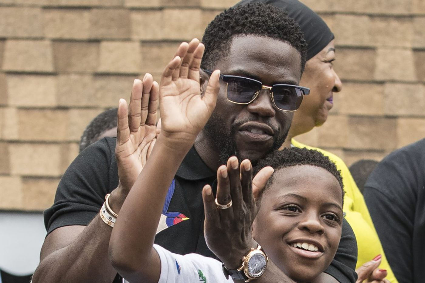 Philly celebrated Kevin Hart yesterday. He vowed to return for a bigger fest next year
