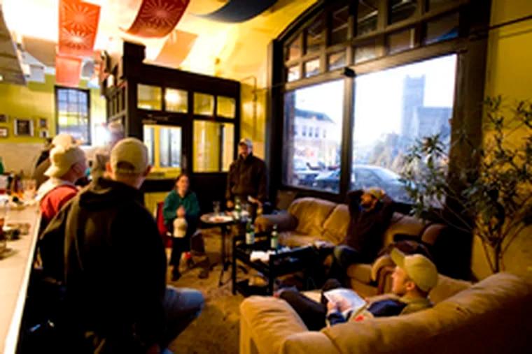 In a former firehouse, Dock Street's neighborhood brewpub has kindled a renewed vibrancy.