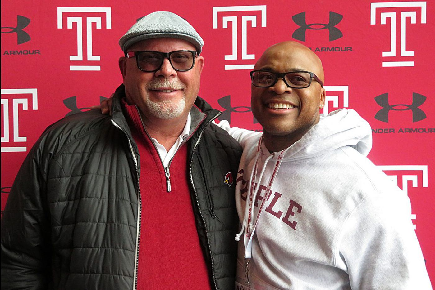 Former Temple coach Bruce Arians remains a big fan of the program