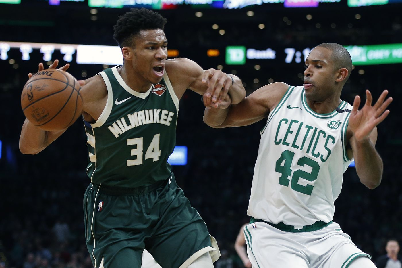 National Basketball Association  play-offs: Milwaukee Bucks beat Boston Celtics to make Eastern final