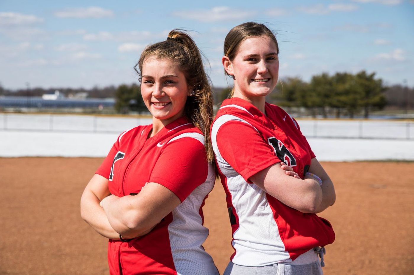 Injury affects the Kingsway softball team but not their friendship