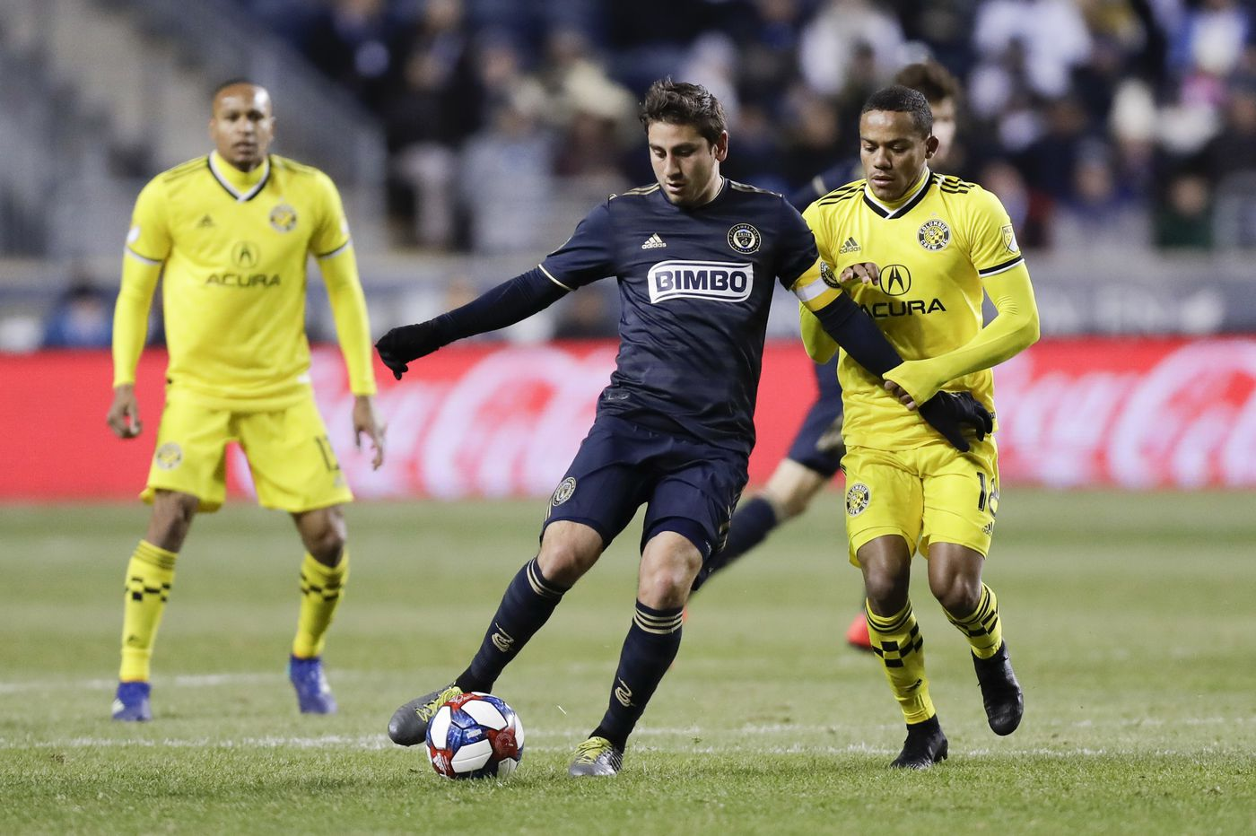 Union need to replace injured Alejandro Bedoya, and need to help Marco Fabián