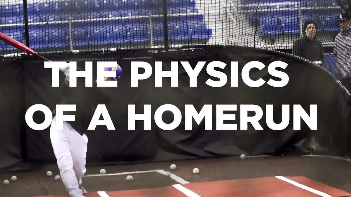Breaking down the physics of a home run