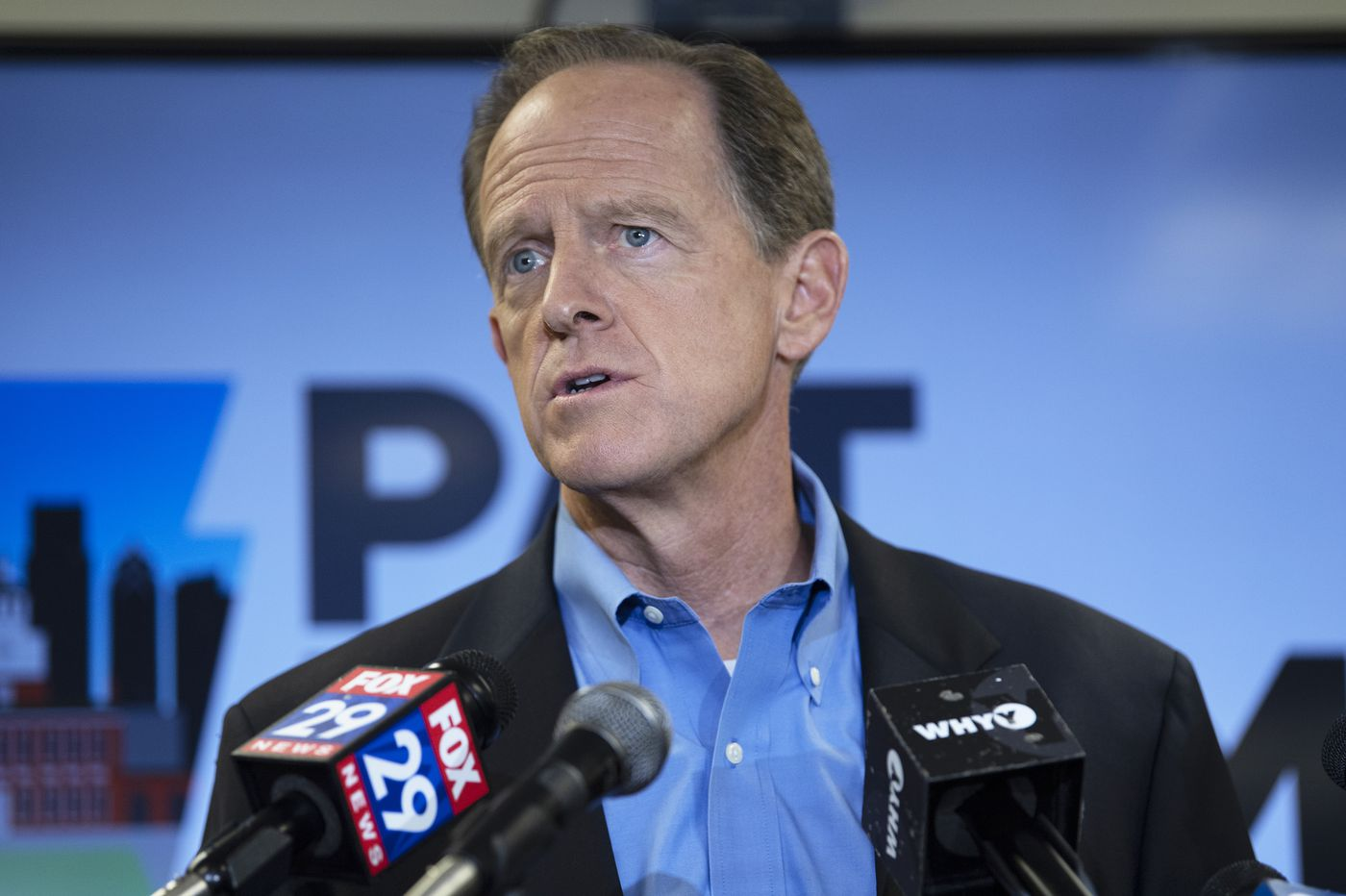Is the GOP rethinking impeachment? Not Pa. Sen. Pat Toomey.
