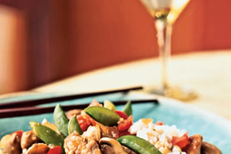 Pork tenderloin does not need to remain in one piece. Pork and Vegetable Stir Fry With Cashew Rice is made with cubed meat. Cubed pork can also star in an elegant, herby stew.