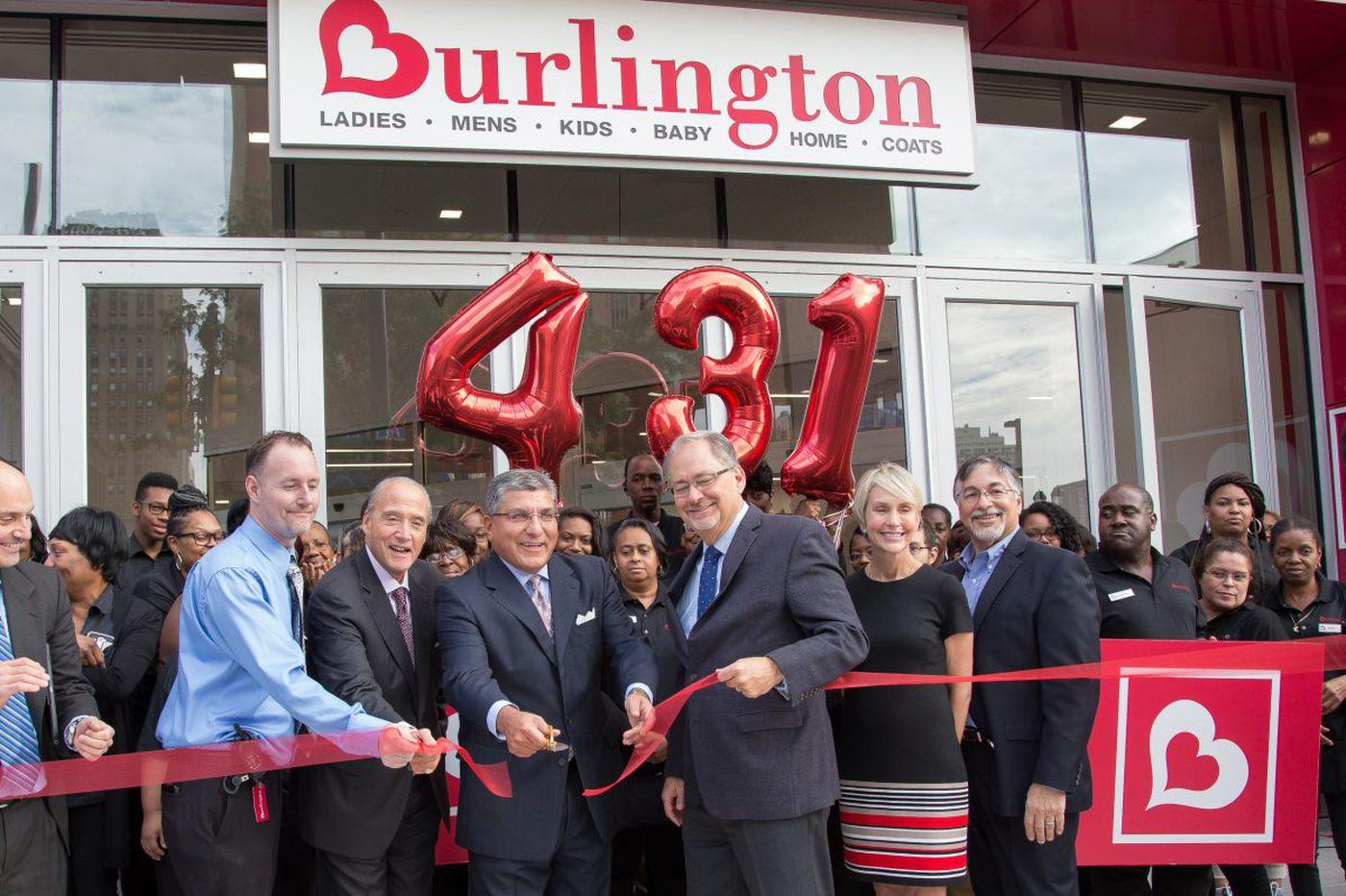 Burlington greets shoppers at new Market Street location