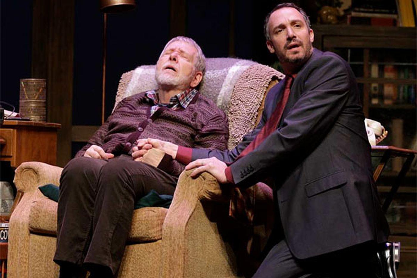 'Tuesdays With Morrie' at Bristol Riverside: Morrie's much too merry