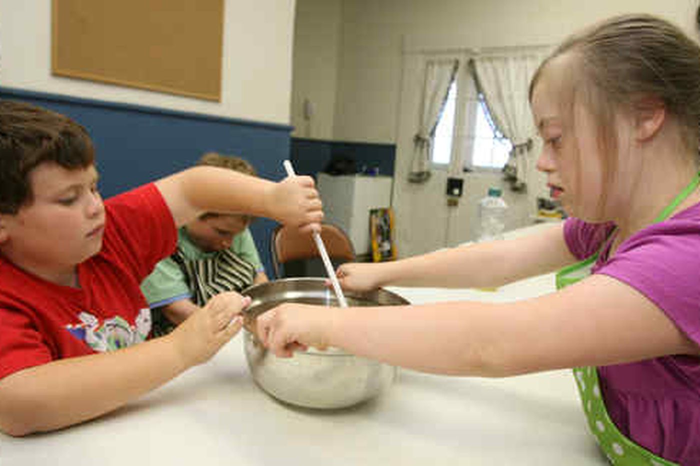 Cooking club helps autistic children build life skills