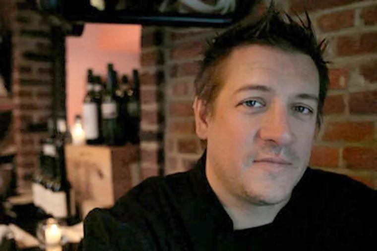 Townsend Wentz, chef at McCrossen's in Fairmount. (David M Warren / Staff Photographer)