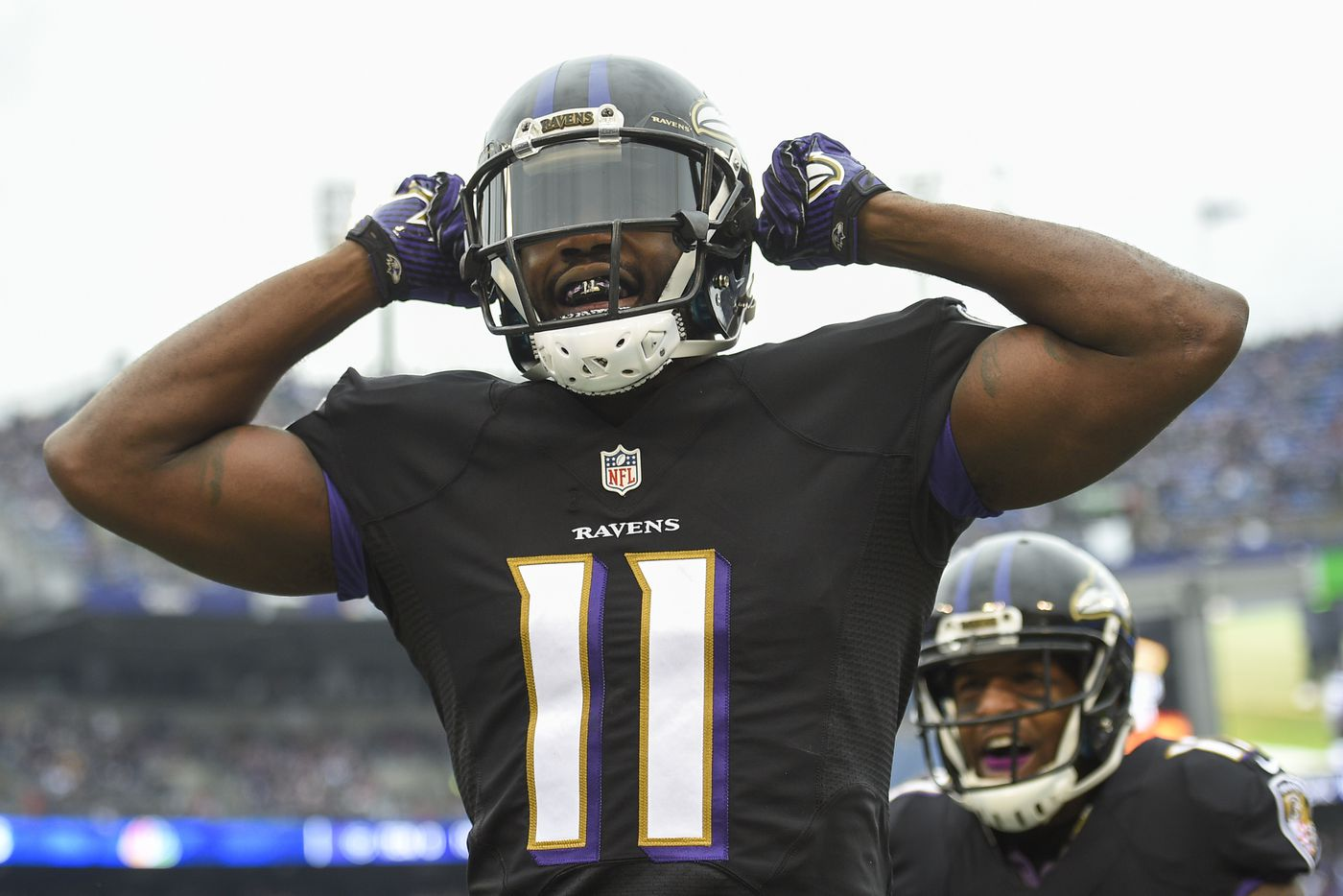 Kamar Aiken, now with Eagles, hopes to prove he's not a one-hit wonder