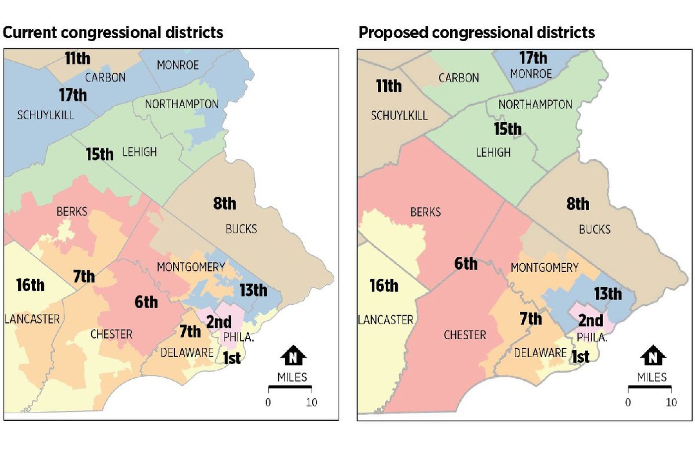 Pa. Republicans have proposed a new congressional map. Democrats say it's still gerrymandered.