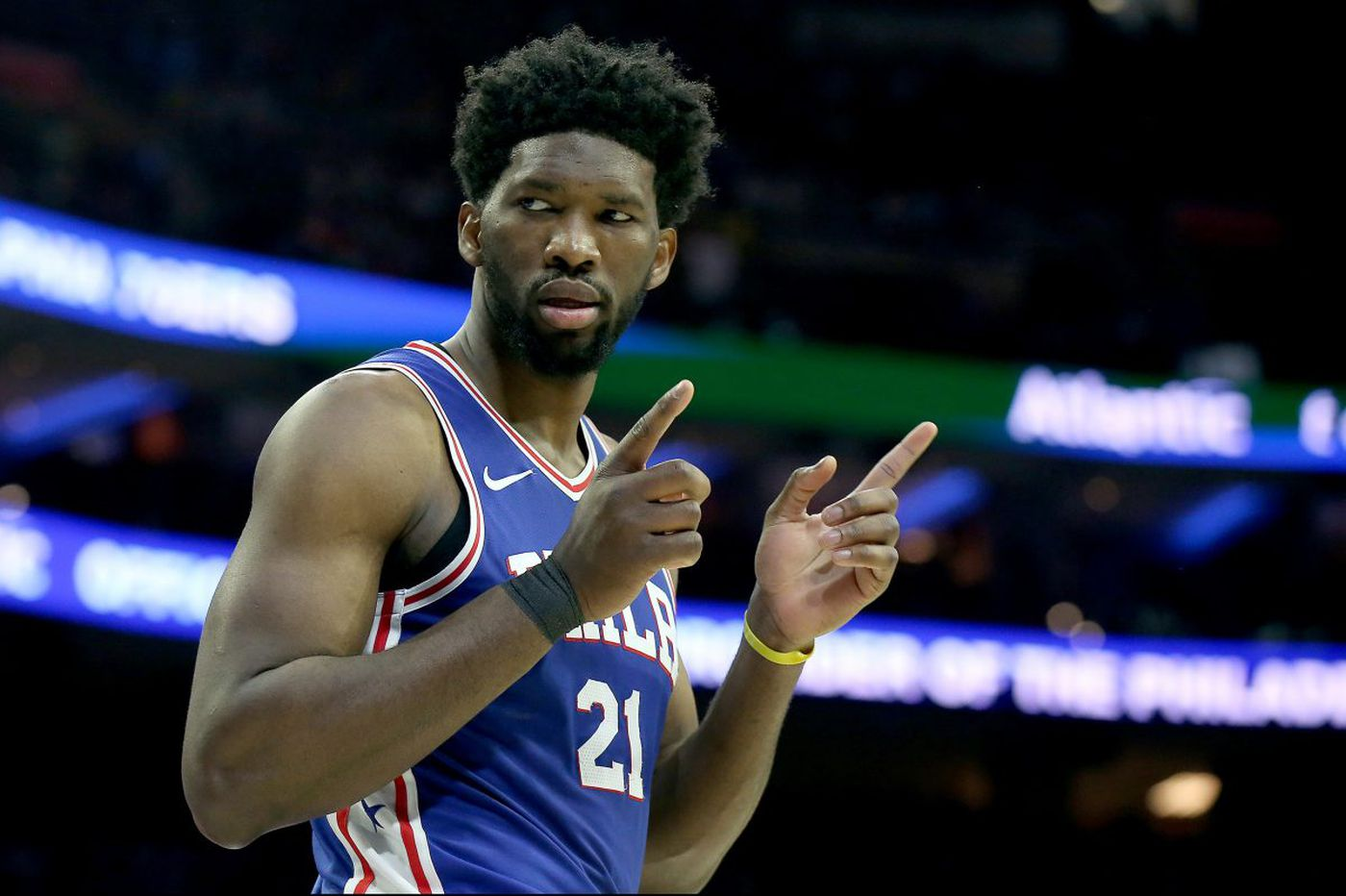 Sixers' Joel Embiid picked by Steph Curry's team in NBA all-star draft
