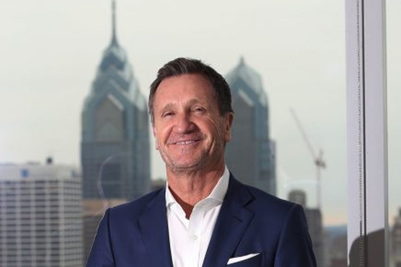Pierre Brondeau, who put FMC on the world map and the Philly skyline, is moving on