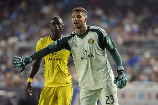 Coatesville-born Columbus Crew goalkeeper Zack Steffen joining Manchester City