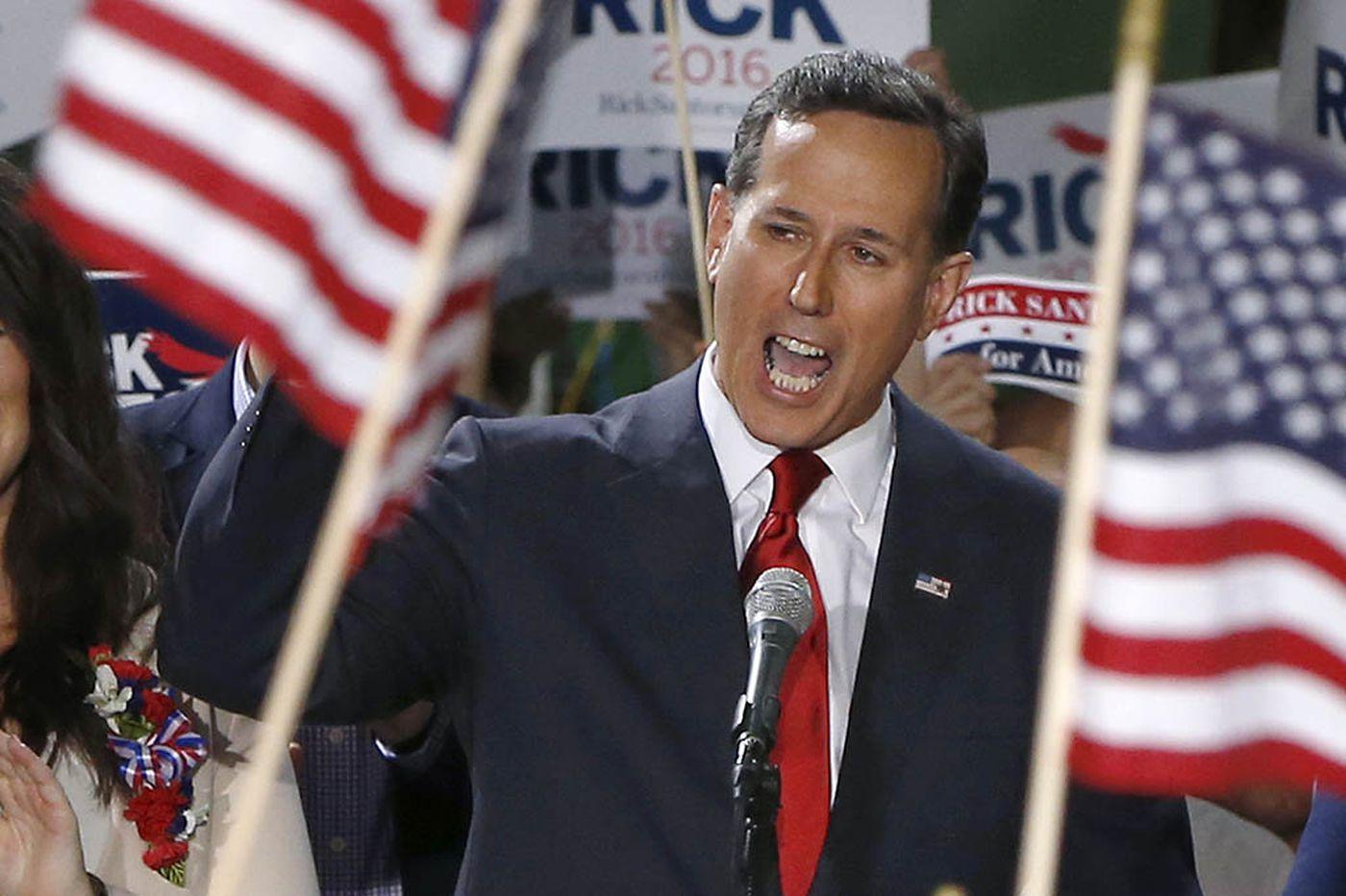 Rick Santorum helped a campaign donor win a full Trump pardon