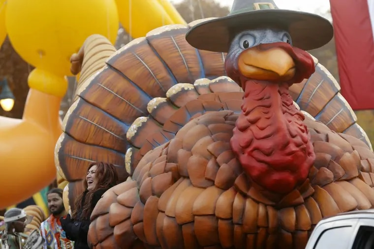 Last year's Thanksging Day parade included country music artist Jo Dee Messina on a turkey float.