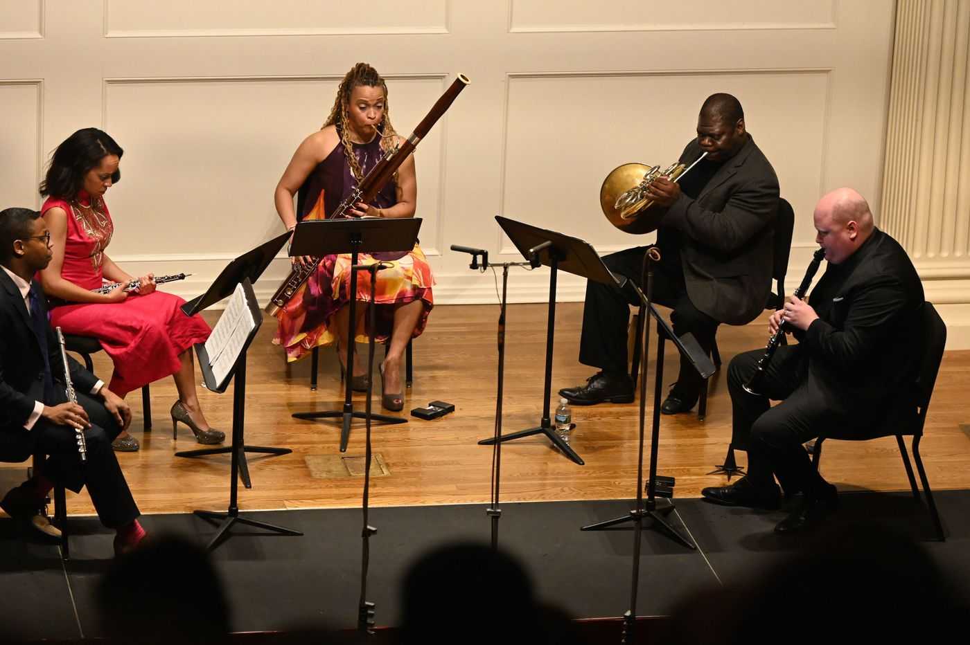 Winsome Imani Winds gives world premiere of Four Sketches by Penn professor James Primosch