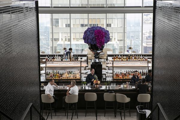 Comcast Tower's Four Seasons hotel gives 60th-story views along with the florist for the Kardashians