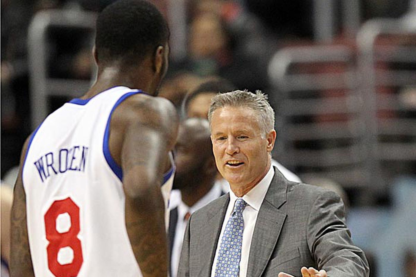 Brown recognizes Sixers' defensive struggles