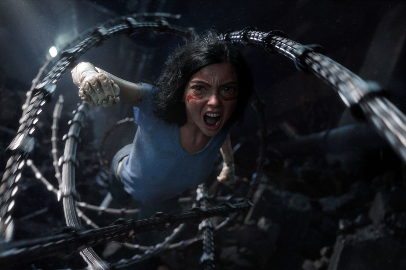 'Alita: Battle Angel': $200 million in cutting-edge special effects and no story | Movie review