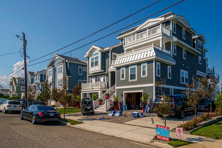 Home for sale on 20th Street on the bayside in Avalon, N.J.