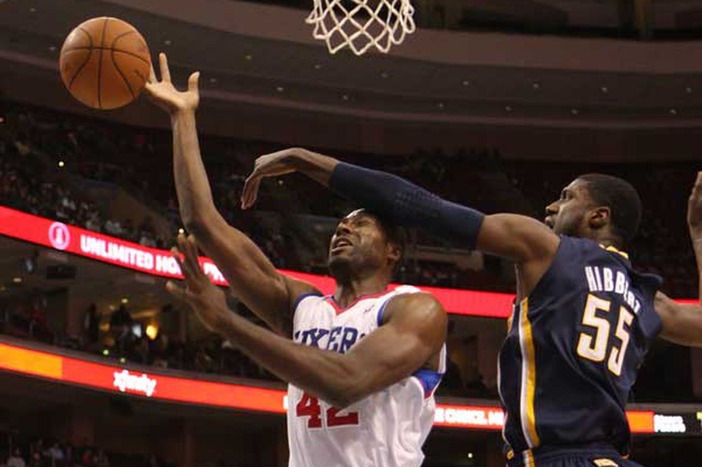 Sixers hire Roy Hibbert as a player development coach