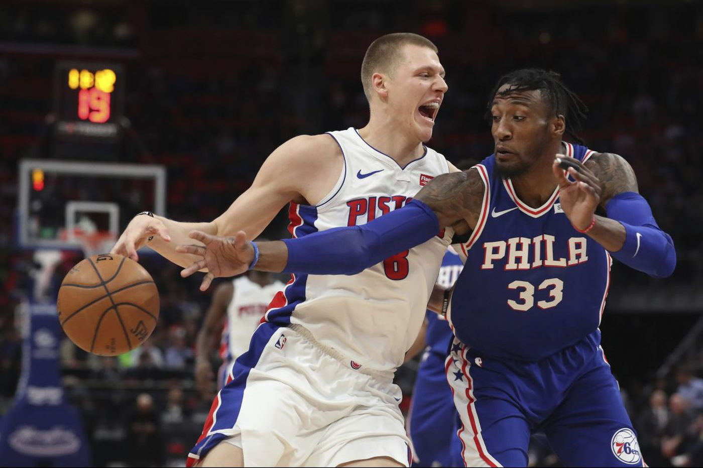 Sixers top Pistons for 12th straight win behind Ben Simmons, JJ Redick