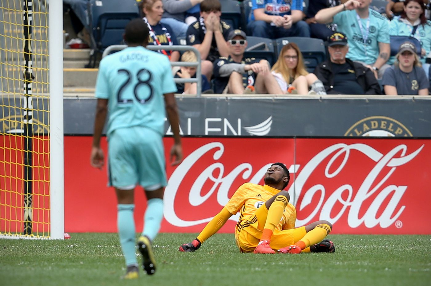 Union beat Montreal Impact 3-0, but lose Andre Blake to groin injury