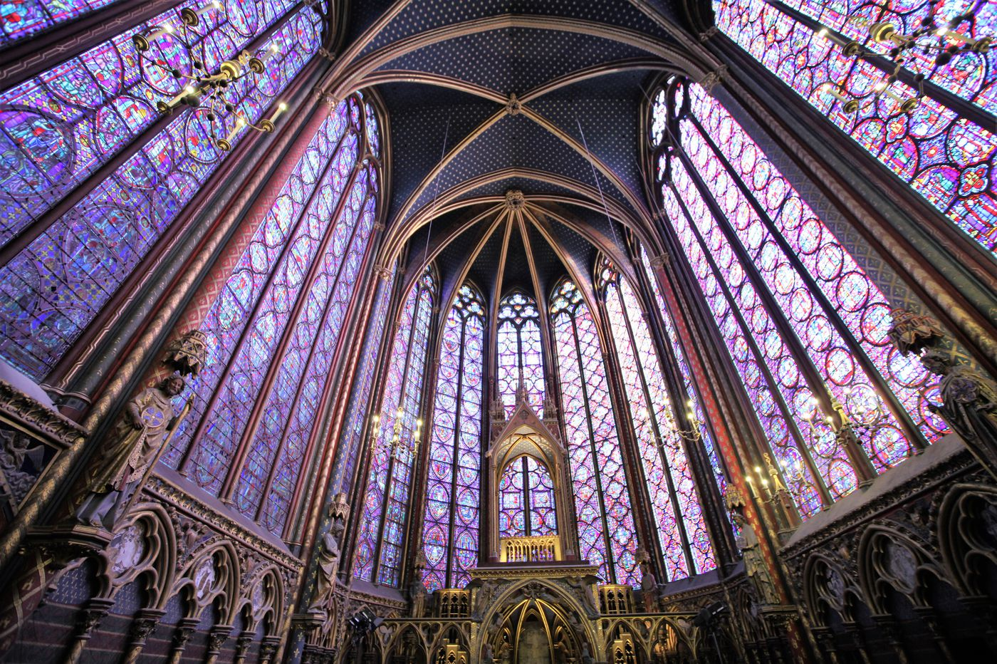 In Paris, tourists can find solace in magnificent churches other than fire-ravaged Notre Dame