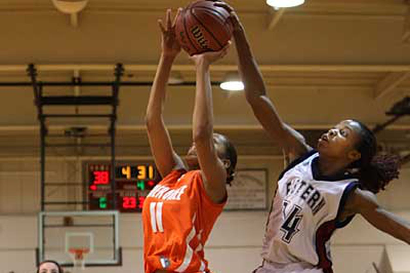 Okoro leads No. 1 Eastern girls over No. 2 Cherokee