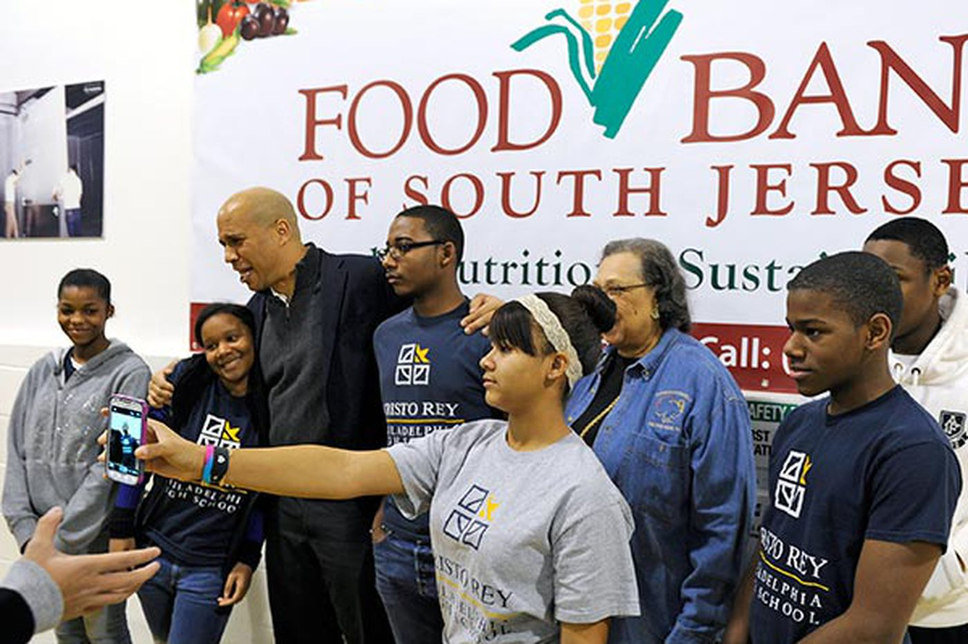 Booker visits Food Bank in Pennsauken, highlighting the work it does