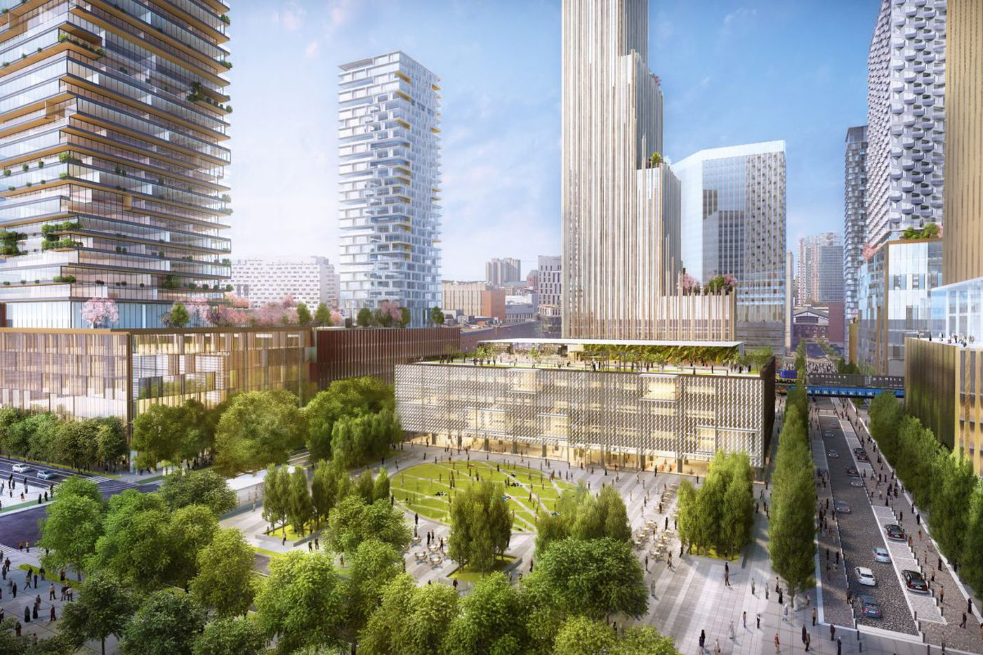 Schuylkill Yards is the latest Philly project with workforce-diversity aims
