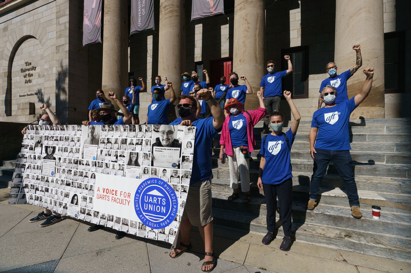 University of the Arts faculty in Philadelphia have voted to unionize