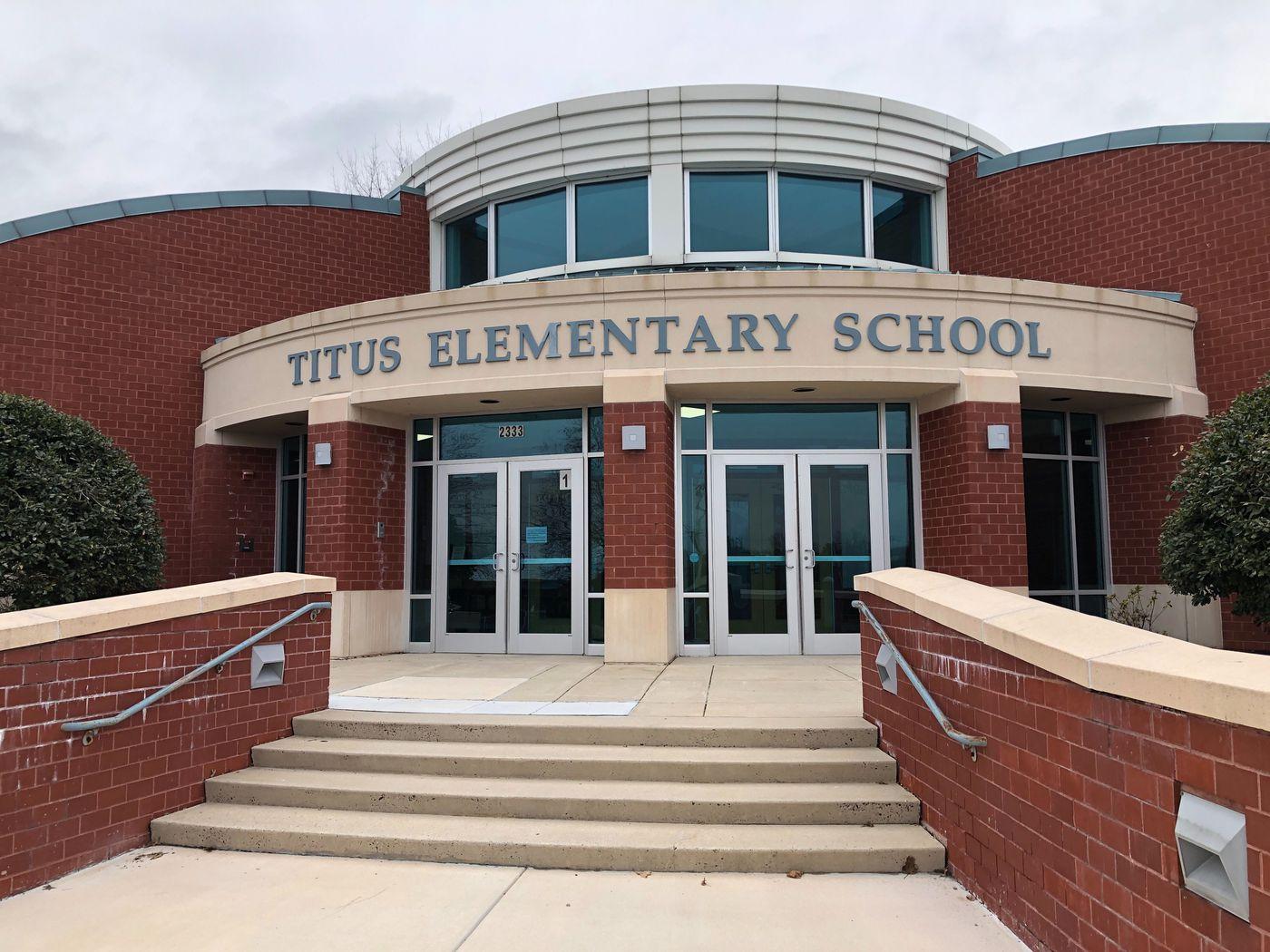 Titus Elementary School.