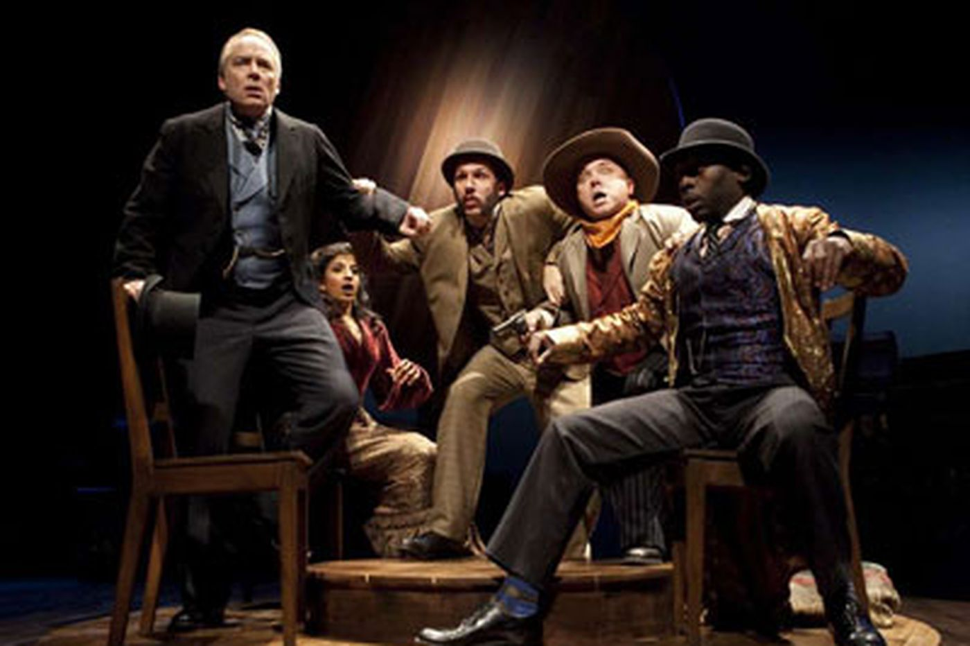 How are Barrymore finalists chosen?