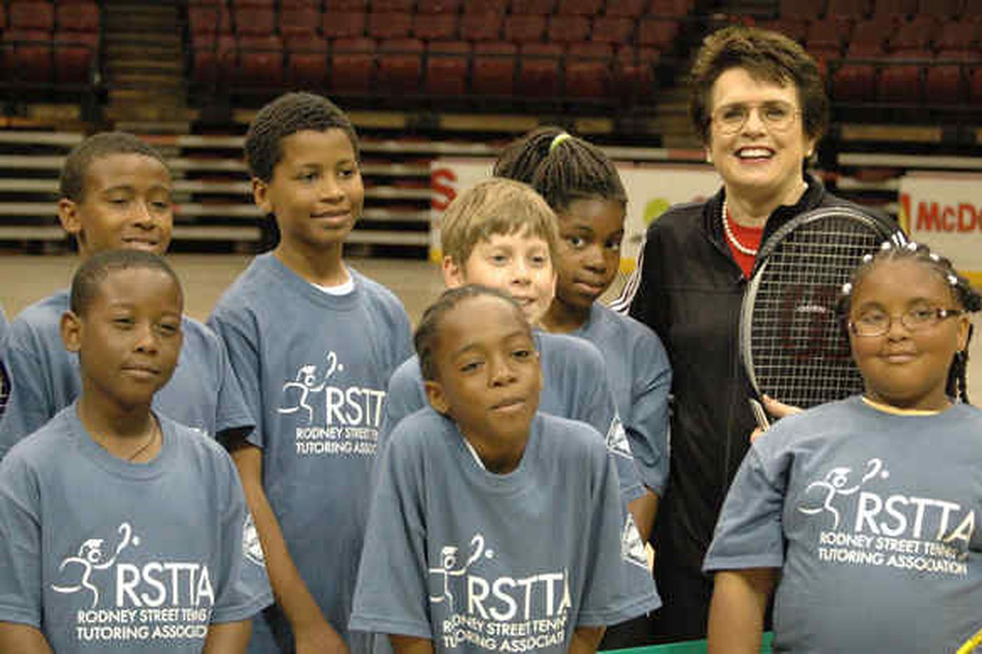 Billie Jean King serves up some Wachovia Spectrum memories